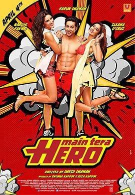 Main tera Hero (2014) 720p BluRay Hindi Full Movie