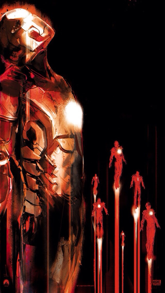 Iron Man iPhone 5/5s wallpaper. : iWallpaper