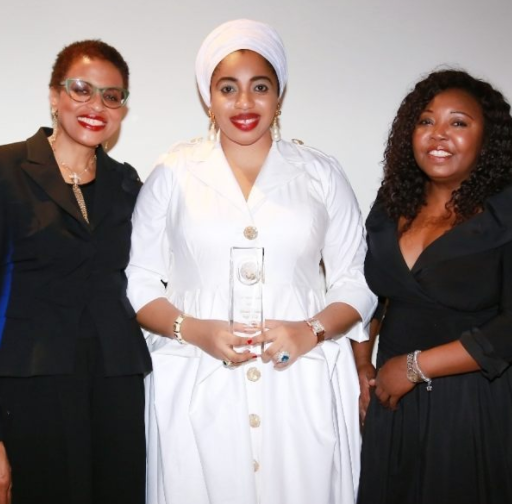 Ooni of Ife's ex-wife,now Queen Zaynab-Otiti Obanor,wins humanitarian award at UN