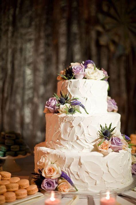 Non fondant wedding cake   Wedded Bliss   Purple wedding
