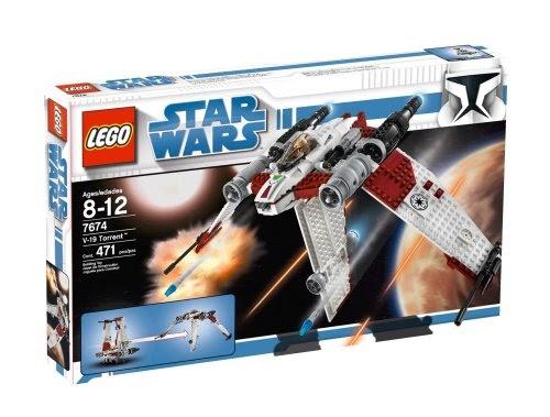 Toys Top Sales: LEGO Star Wars V-19 Torrent (7674) Review