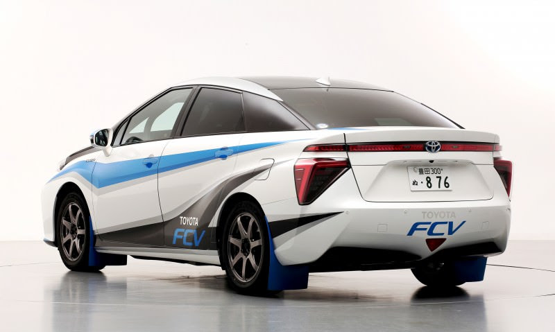 Toyota FCV to Feature in Final Stage of 2014 Japanese Rally ...