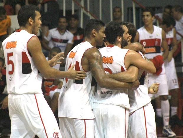 NBB, Flamengo e Joinville (Foto: Thiago Lavinas / Globoesporte.com)