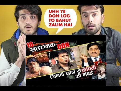 ये है मुंबई के 10 खूंखार डॉन जिनसे दुनिया भारत कं biography of top 10 don of mumbai| AFGHAN REACTION