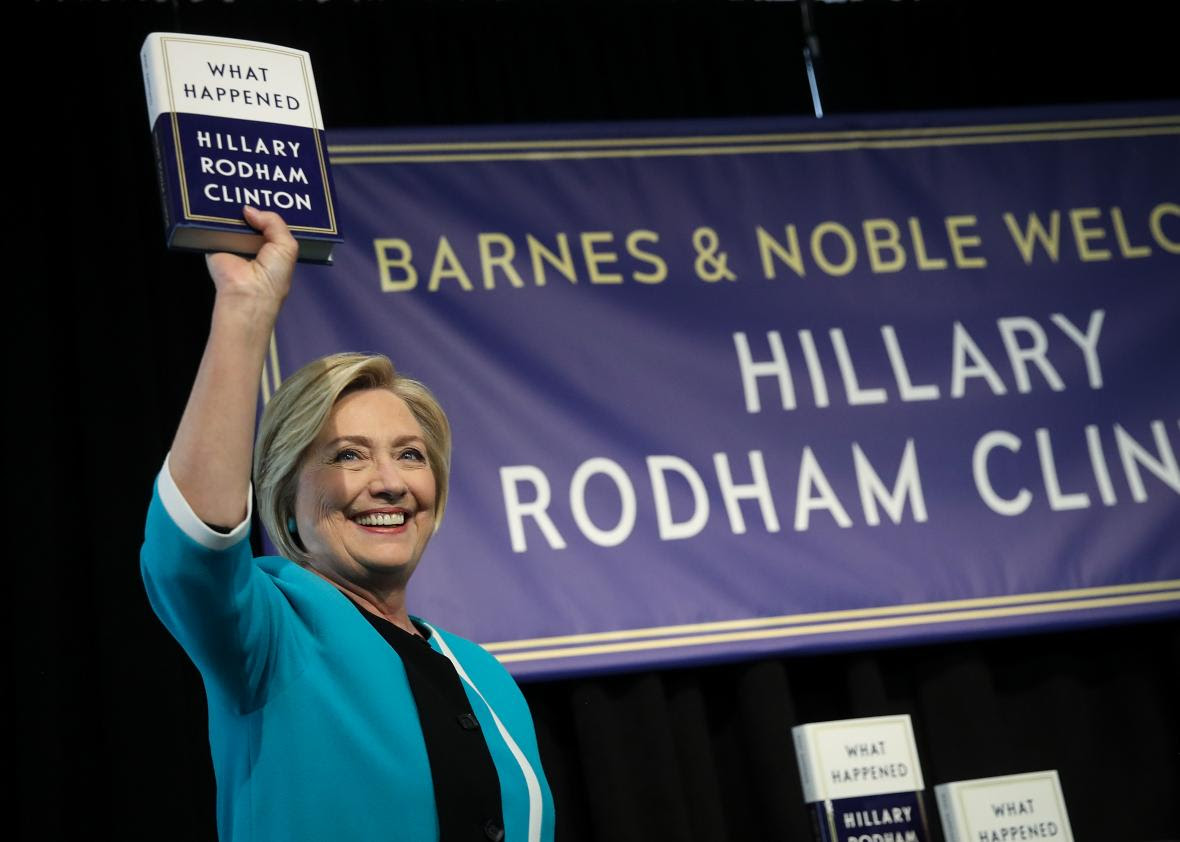 Amazon Removed Hundreds Of Reviews Of Hillary Clinton's Book From People Who Probably Didn't Read It by Marissa Martinelli for Slate