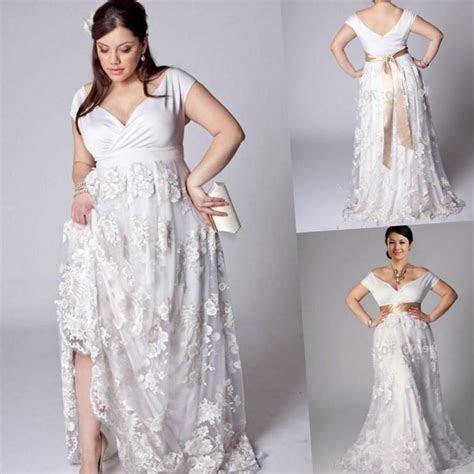 Plus size beach wedding dresses cheap   PlusLook.eu Collection