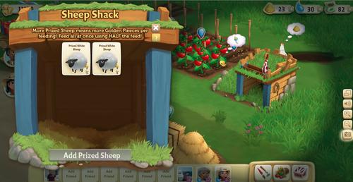 Sheep Shack - FarmVille 2