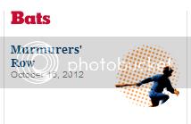 NYT Bats blog headline: