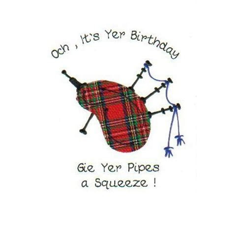a very scottish birthday greeting   for a wee lassie have