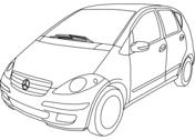 Ausmalbilder Mercedes - Malvorlagen Kostenlos zum Ausdrucken