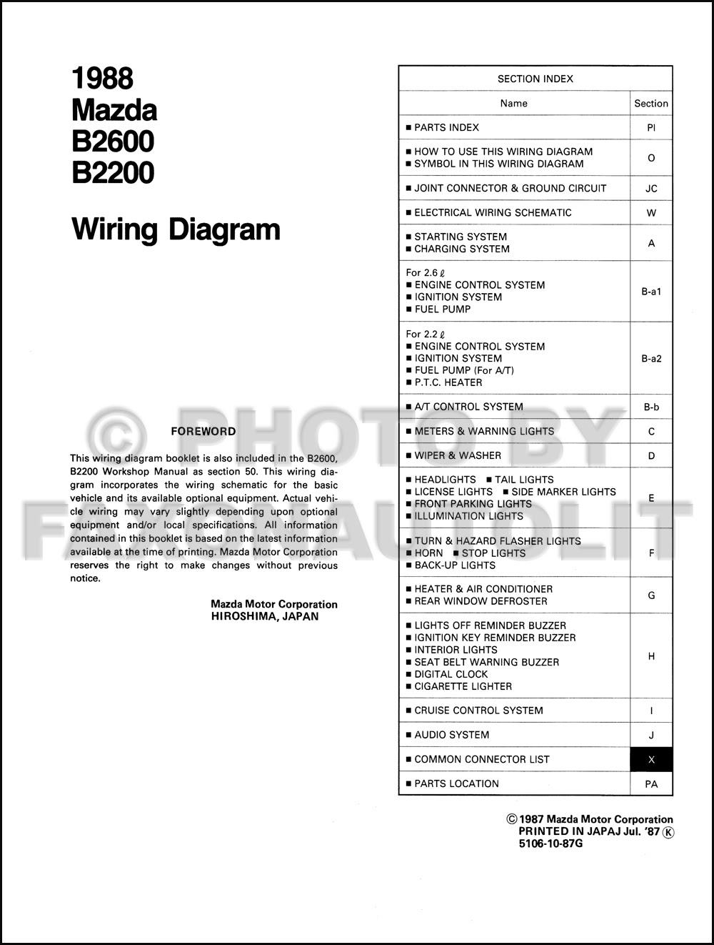 99 Mazda 626 Engine Diagram