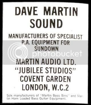 Dave Martin ad
