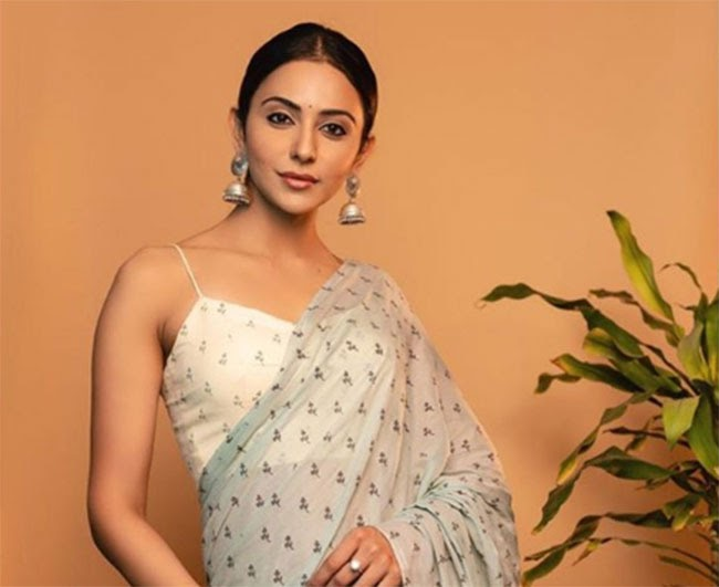 Rakul Comented on the hot topic Nepotism