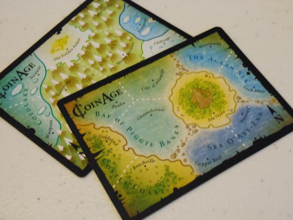 Coin Age game boards