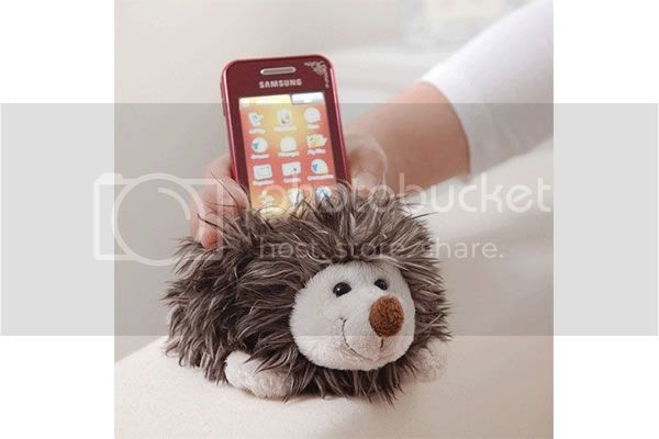 hedgehog-phone-holder