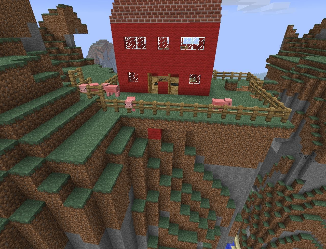 farm!! (with pig mob spawner) Minecraft Project