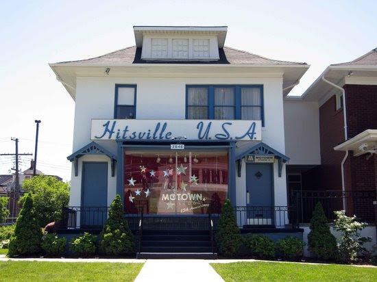 Exterior of Motown museum