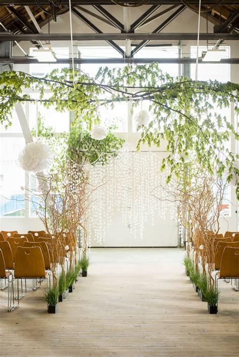 Modern white rustic wedding 26   suspended wedding decor