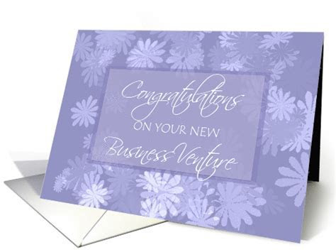 Congratulations on New Business Venture ~ Spray of Daisies