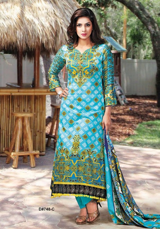 Dawood-Textile-Classic-Lawn-Collection-2013-New-Latest-Fashionable-Clothes-Dresses-3