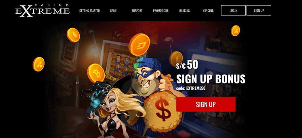 Casino Extreme is an online casino powered by the Real Time Gaming software platform and they offer a selection of different casino games which include slot games, table games and video poker games.Players can enjoy the casino games via Instant Play on a PC or Mac and can also enjoy games on the go with the mobile casino compatible on tablet and smartphone  devices.