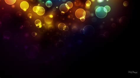 Bright bokeh lights wallpaper   AllWallpaper.in #11936