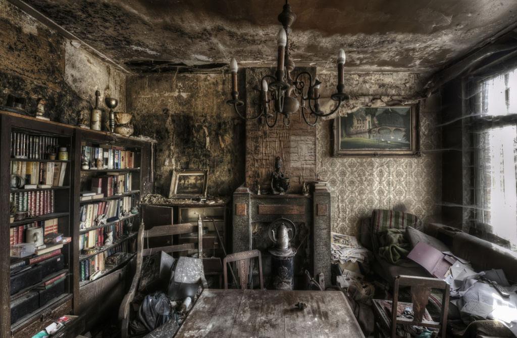 A arte do Urbex - As impressionantes fotografias de Niki Feijen 08