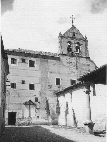 Convento de Santo Domingo el Real (Toledo) a mediados del siglo XX. Foto Rodríguez