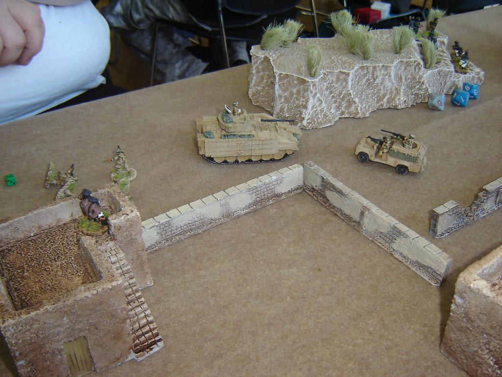 British start to take casualties and WMIK turns around