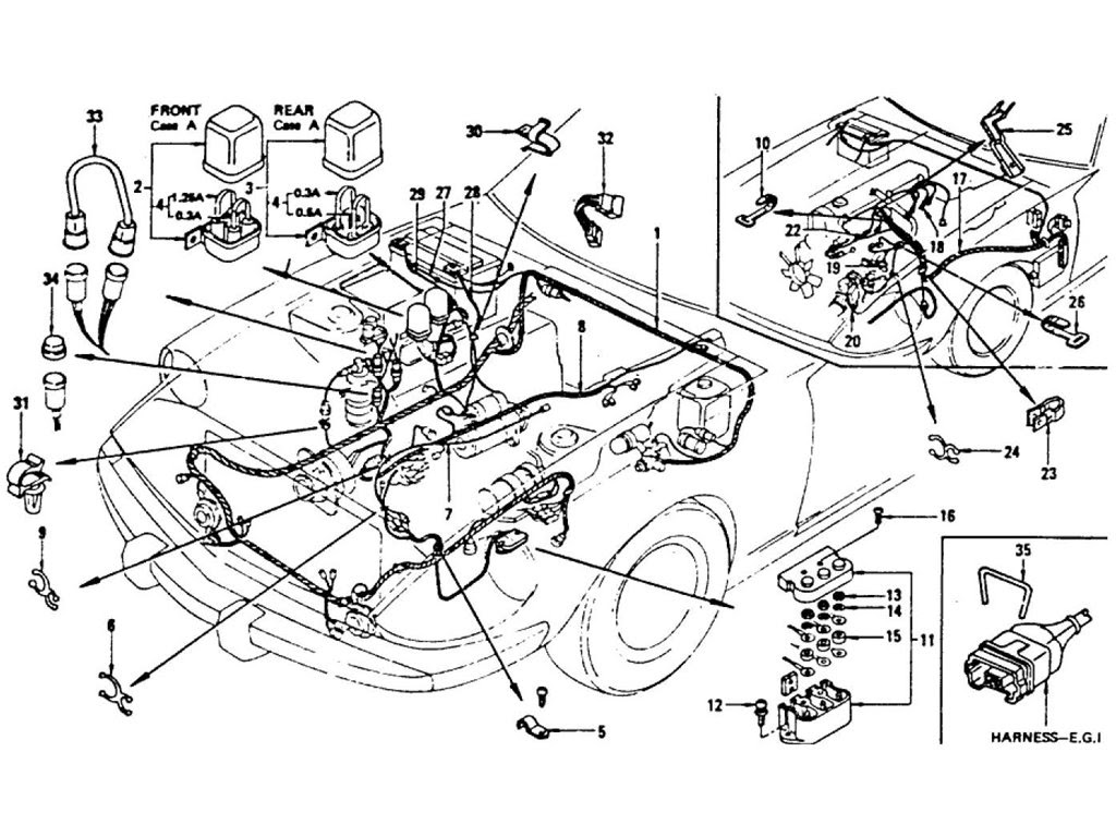 300zx Engine Bay Diagram