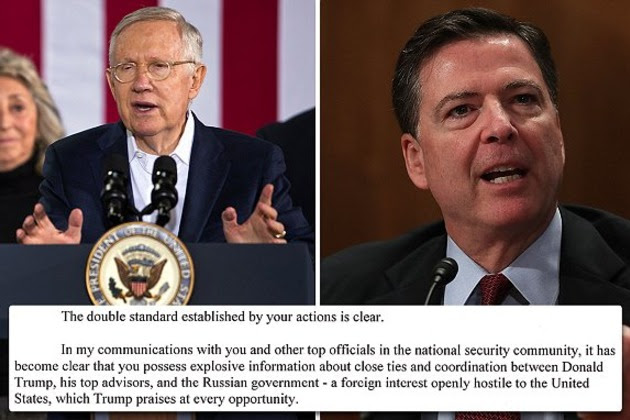 Image result for comey russia trump