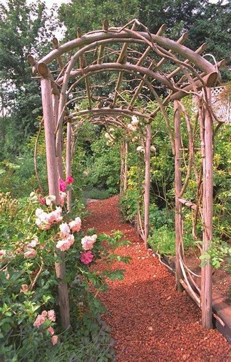 rustic arbor ideas  pinterest rustic wedding