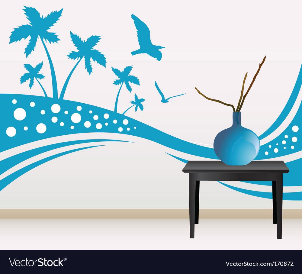 Wall decoration vector art - Download Wall vectors - 170872