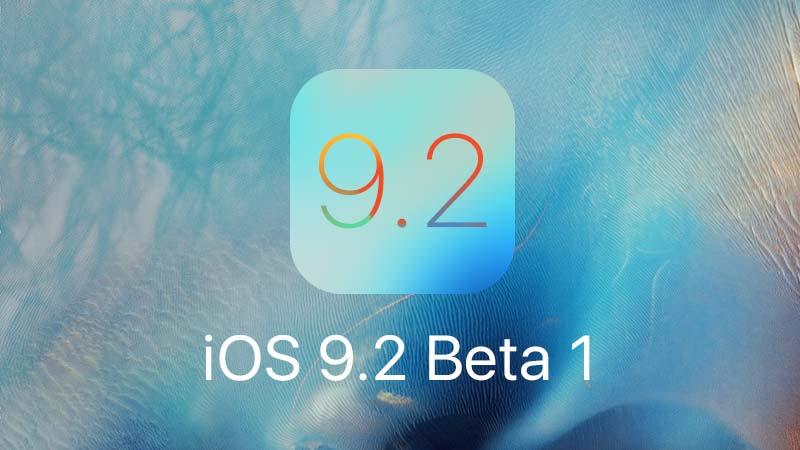 تحديث iOS 9.2 Beta 1