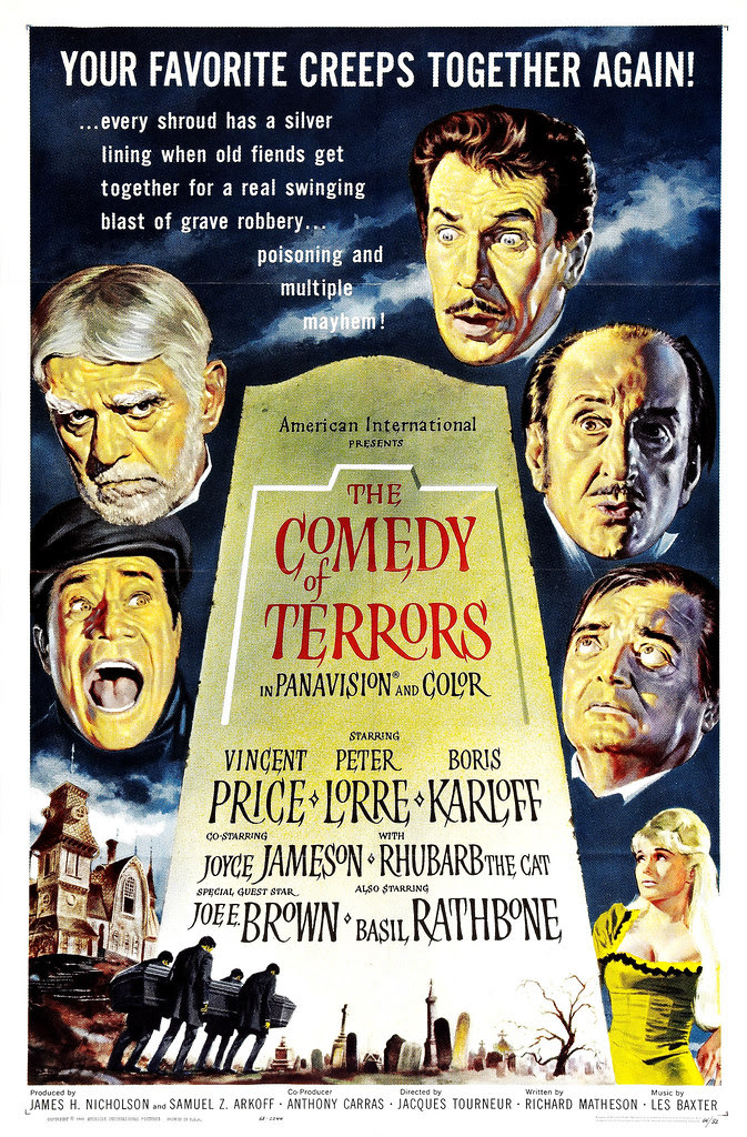 Reynold Brown - The Comedy of Terrors (American International, 1964)