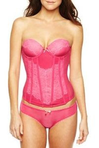 Cosmopolitan Eyelash Lace Bustier and Panties