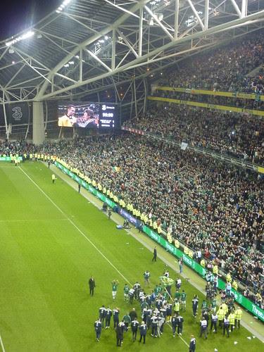 Ireland Estonia Euro 2012 by Sean MacEntee