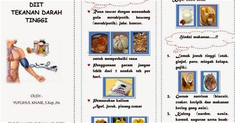 leaflet diit hipertensi ebooks yuflihul khair