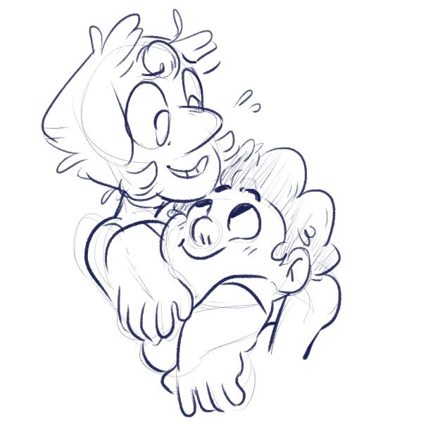 PEARL GETS A HUG 2K16