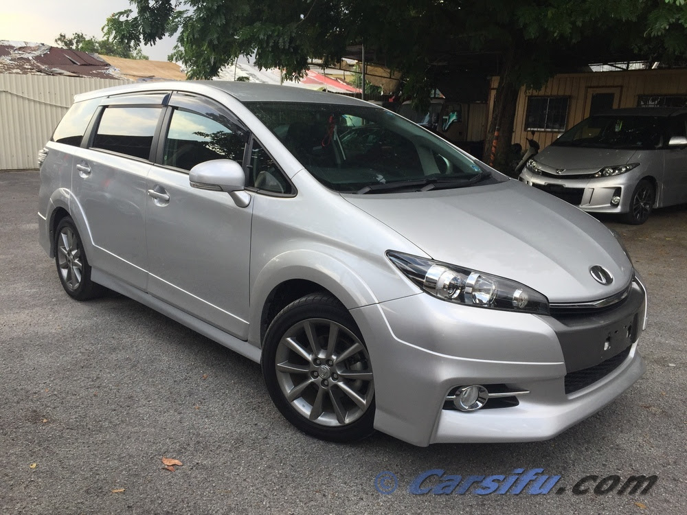 toyota wish 20z facelift for sale in klang valley