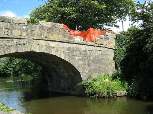 Hasty Brow Bridge, Lancaster Canal by British Waterways.