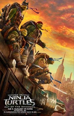 Teenage Mutant Ninja Turtles 2: Out of the Shadows Filmplakat