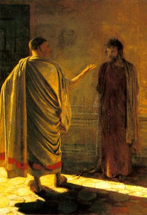 Què és veritat? (Crist i Pilat), Nikolai Ge, 1890