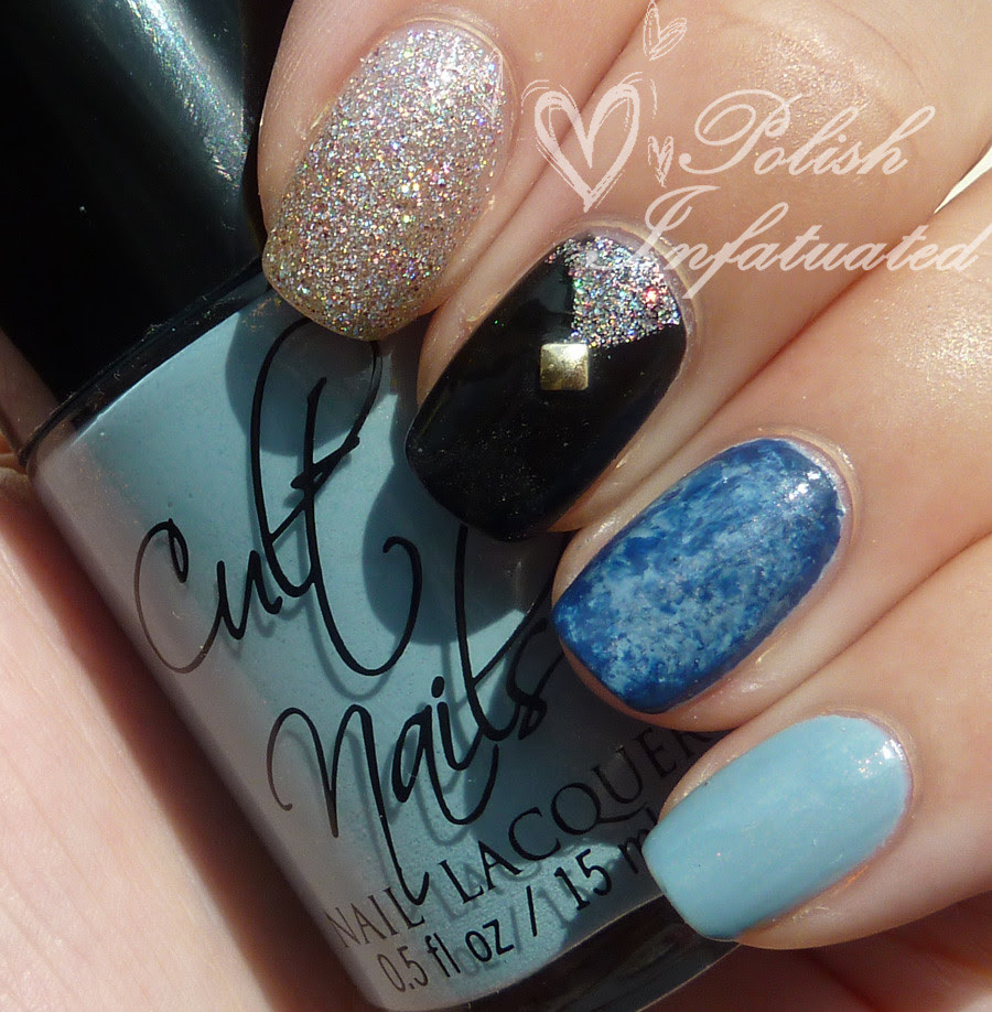 blue, glitter and black mish mash3