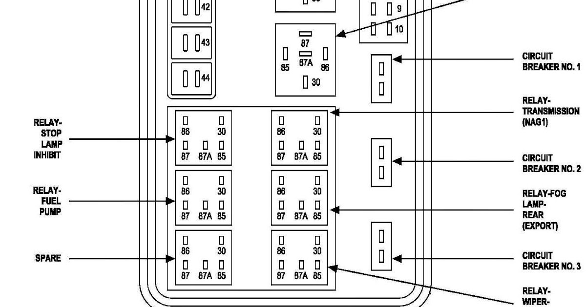 28 2012 Dodge Ram 1500 Fuse Box Diagram