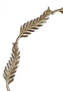 Altın kaplama tüy kafa bandı, £ 106, Boticca.com