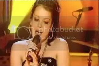 Lily Allen performing 'Smile' on Top Of The Pops on June 11, 2006