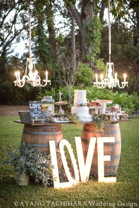 36 Rustic Wedding Decor For Country Ceremony   Eternity