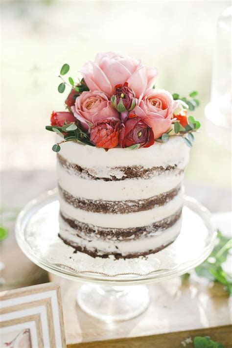 16 Beauty Spring Flower Single Tier Wedding Cake ? Cheap