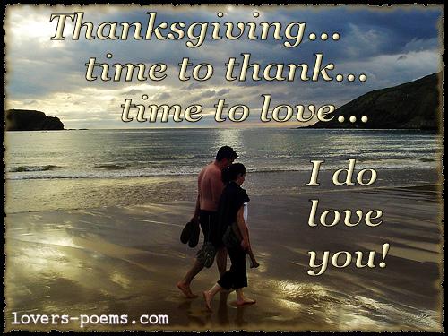 Romantic Love Thanksgiving